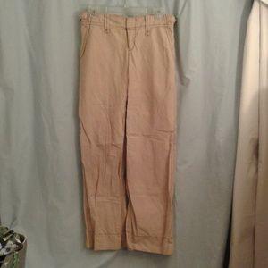 Free People 2 khaki lounge utility pants